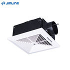 "6""8"" full metal case ceiling duct pipe tubular window mount bathroom ventilation exhaust fan P5"