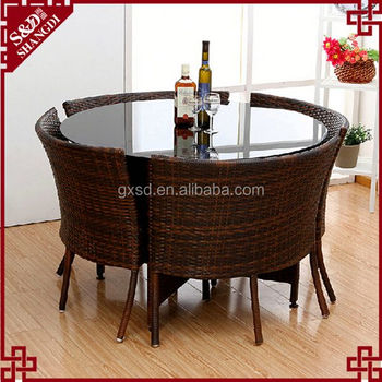 Sd Dining Room Furniture 4 Person Modern Glass Top Round Dining Table - Buy  Glass Top Round Dining Table,Modern Glass Top Round Dining Table,4 Person  ...