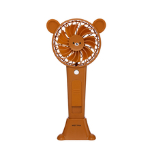 Custom high speed outdoor water mist cooling li-ion battery powered handy mini portable fan rechargeable