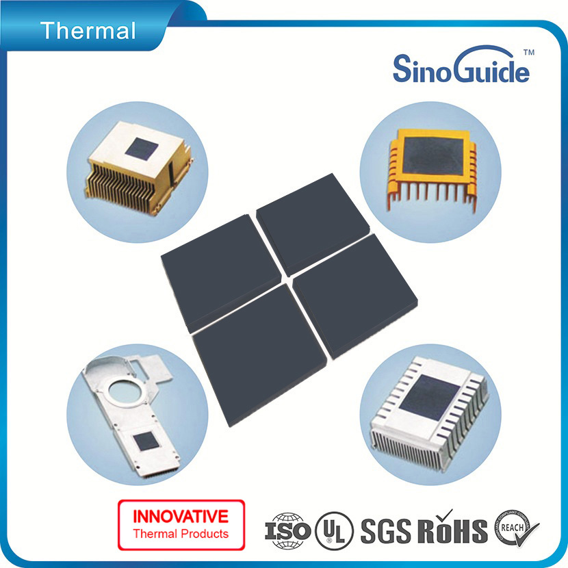 50W/m.k Thermal Conductivity Silicone Thermal Gap Pad For CPU/LED/PCB