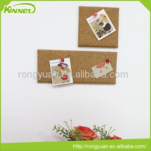 Latest products portable wall decoration pin cork notice board