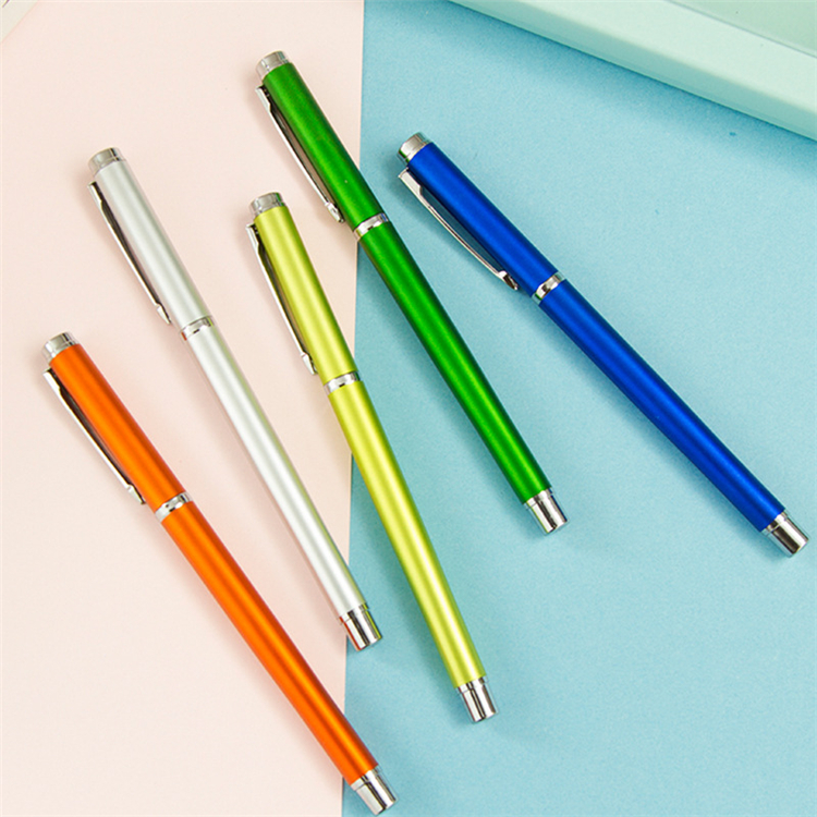 Hight quality promotional metal gel pen
