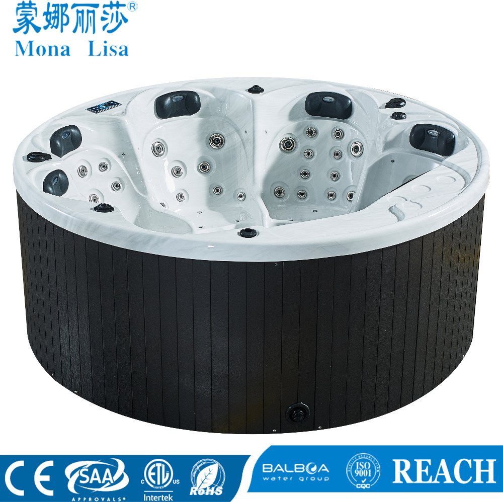 Monalisa new outdoor dutch tub balboa round hot tub M-3356