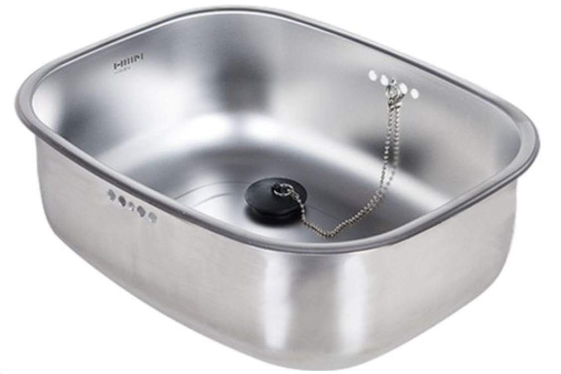Sink Bowl Sink Basket Multipurpose Kitchen Basket Stainless Steel Drain Hole  Sink Cap Included