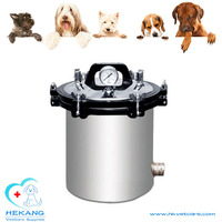 18L / 24L animal stainless steel autoclave sterilizer