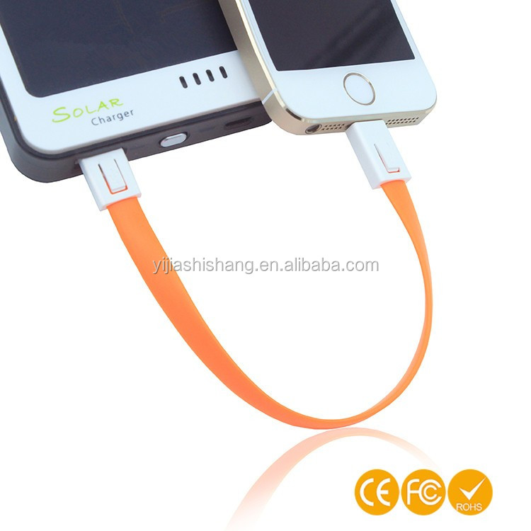 High quality Micro USB Cable Keychain Charger for iPhone 5/6/iPad /Android Data Line