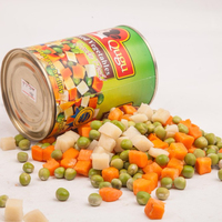 2019 mixed vegetable canned peas and carrots top quality