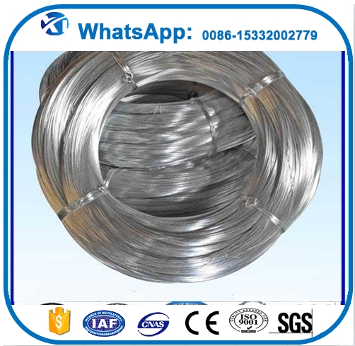 BWG14# HOT DIPPED GALVANIZED STEEL WIRE China supplier 2.1mm hot galvanized iron wires, GI wire for Indian market