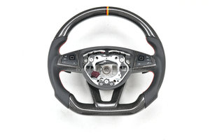 New Style 100% Real Carbon fiber steering wheel for Benz W204 W205 W207 W212 Z4 SLK CLA