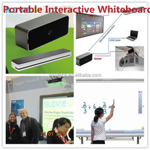China wholesale Best Infrared touch screen interactive whiteboard smart board No need IR pen writing by finger