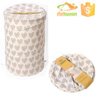 Stock cylindriques Toile Polyester tissu pliable panier à linge