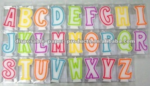 Wholesale Alphabet Cake Candles, available in A B C D E F G ...Y , 26 letter candle Kids Birthday Partyware Party Supplies