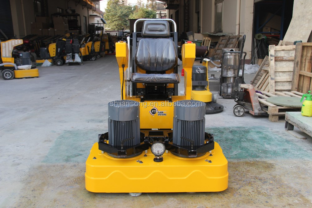 Ride On Concrete Terrazzo Floor Grinder Laser Leveler