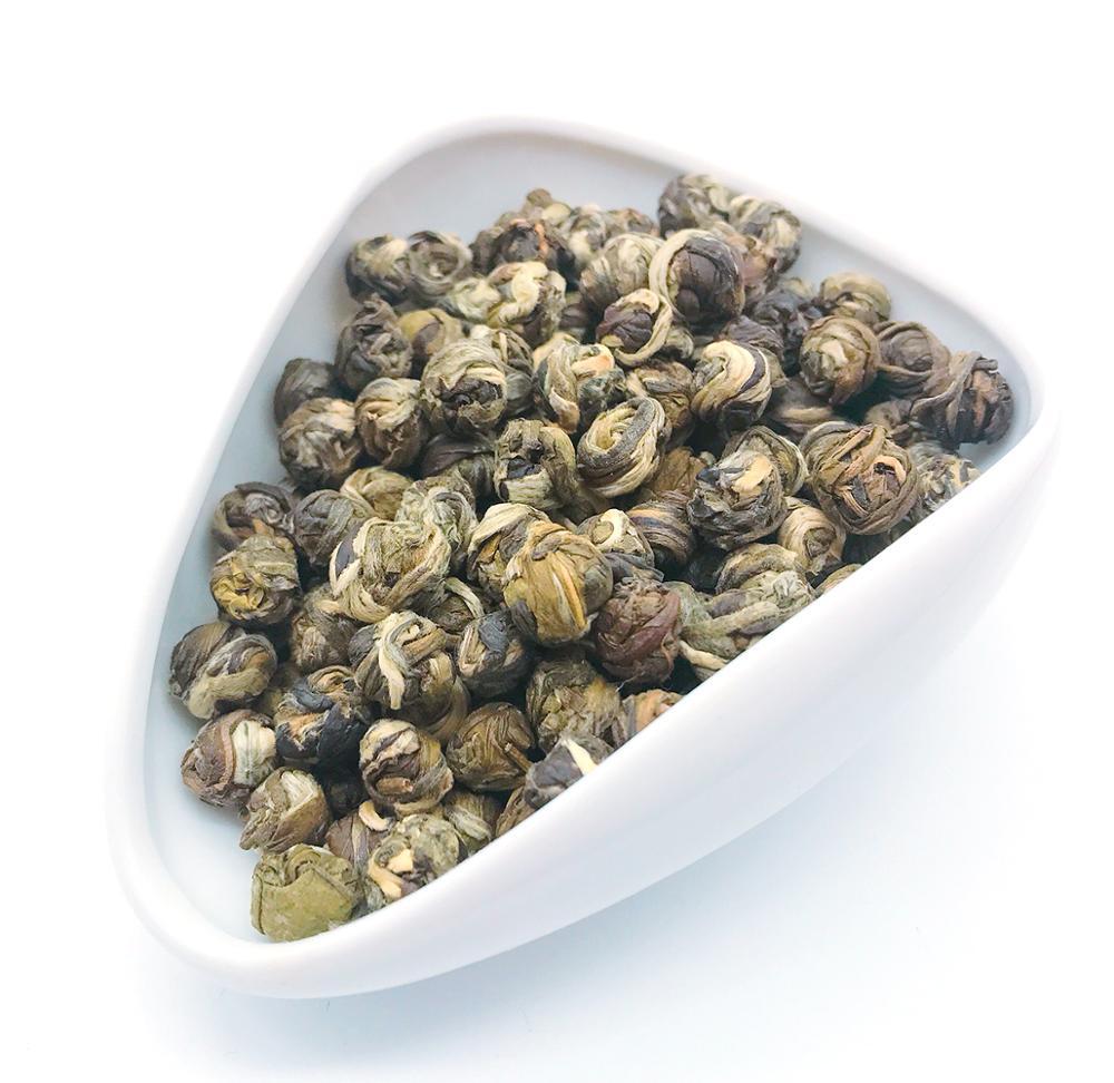 Fujian Dragon Ball Jasmine Tea Green Tea & Jasmine Natural Jasmine Dragon Pearl Tea - 4uTea | 4uTea.com