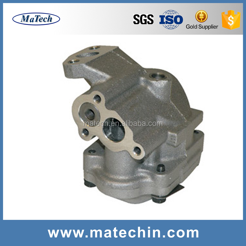 Investment Casted Water Pump Parts Die Casting Hydraulic