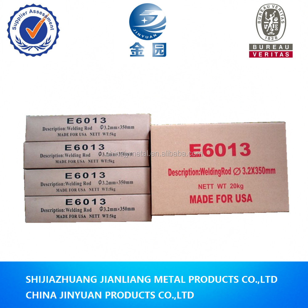 Electrode factory supply j421 Copper Bridge brand e 6013 arc welding electrode
