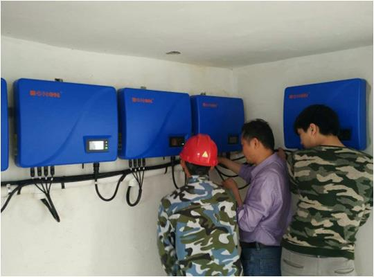 Trustworthy china supplier CE TUV VDE certification 3 phase water pump hybrid solar inverter
