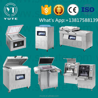food industry automatic double chambers vacuum packing machine for sausage