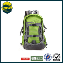 Lightweight custom 40L nylon waterproof trekking rucksack travel 3d backpack for hiking and camping