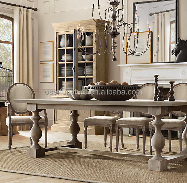 Solid Wood Furniture Classic Antique American Style Dining Room Sets ...