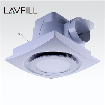 8 Inch Ceiling Mount Bathroom Kitchen Exhaust Fan Ventilator Led Light