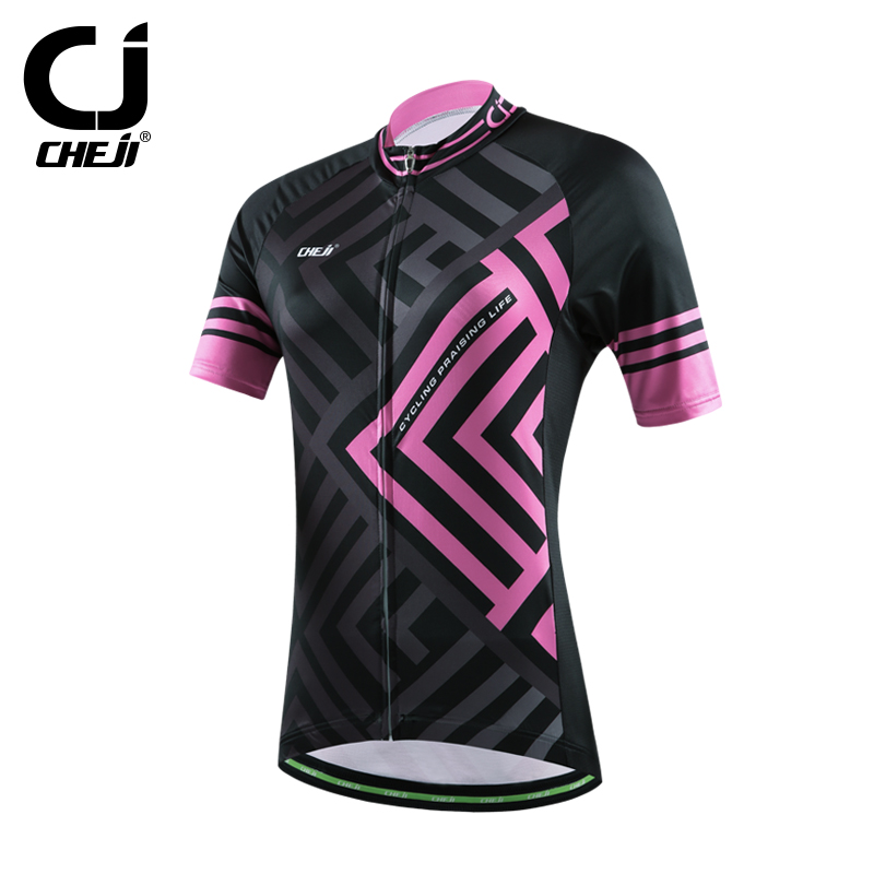 2016 cheji womens ropa ciclismo cycling jersey <strong>specialized</strong> / custom cycling top quickly vents perspiration jersey