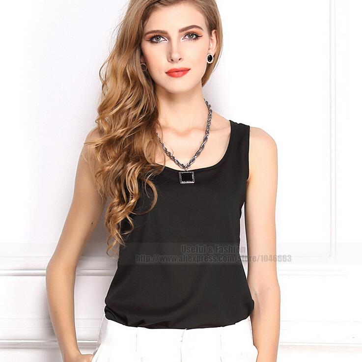 491be92fde Get Quotations · Summer Vest Chiffon Shirts Style blusa feminina blouse  Sleeveless Women Clothing blouses sleeveless vest cheap clothes