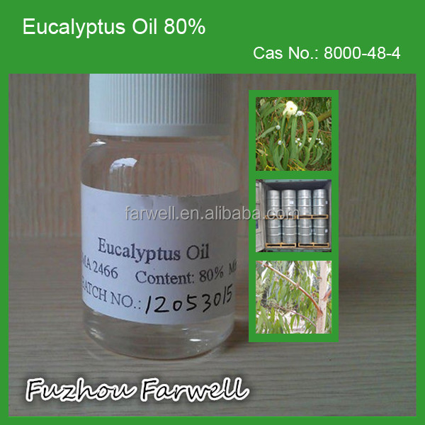 Farwell Natural Eucalyptus Essential Oil 80% min
