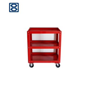 All Types Carbon steel utility vehicle industrial trolley push cart