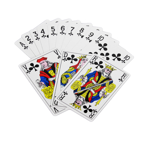 Products Party New Items 100% Pvc Poker Pens With Custom Logo Role Card Game 100 Plastic Playing Cards Royal