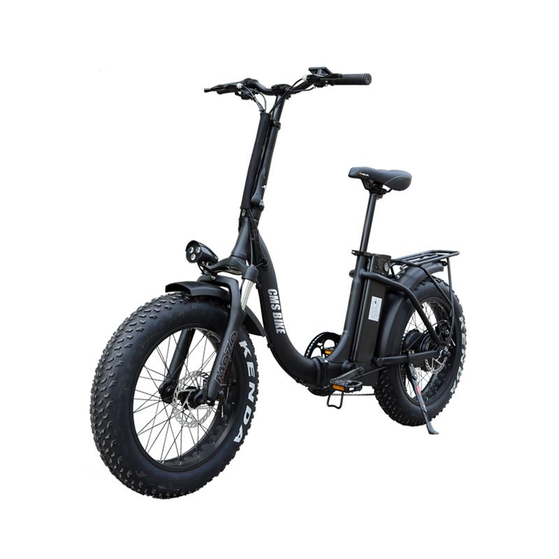 20'' folding e bike fat tire folding electric bike 48v 500w high speed electric folding bike