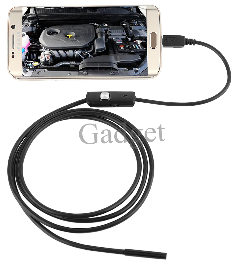 6 LED 5.5mm Lens 720P Android Endoscope Waterproof Inspection Borescope Tube Camera 1M/1.5M/2M/3M/3.5/5M Length endoscope camera