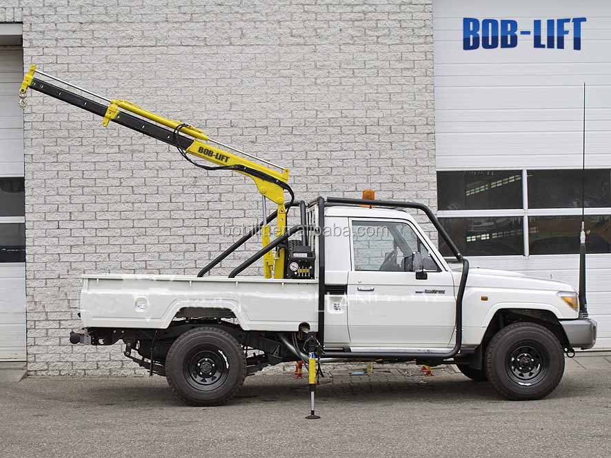 Hydraulic Boom Lifts For Pickups : Boom lift pickup truck crane kg capacity buy