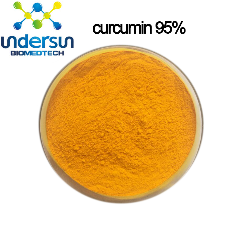 Pure natural turmeric curcumin extract powder 95% for functional foods and beverages