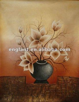 Asequible Jarrones Con Flores Pintura Al óleo Buy Jarrones Pintura Al óleoflores De Pintura Al óleopintado Floral Muebles Product On