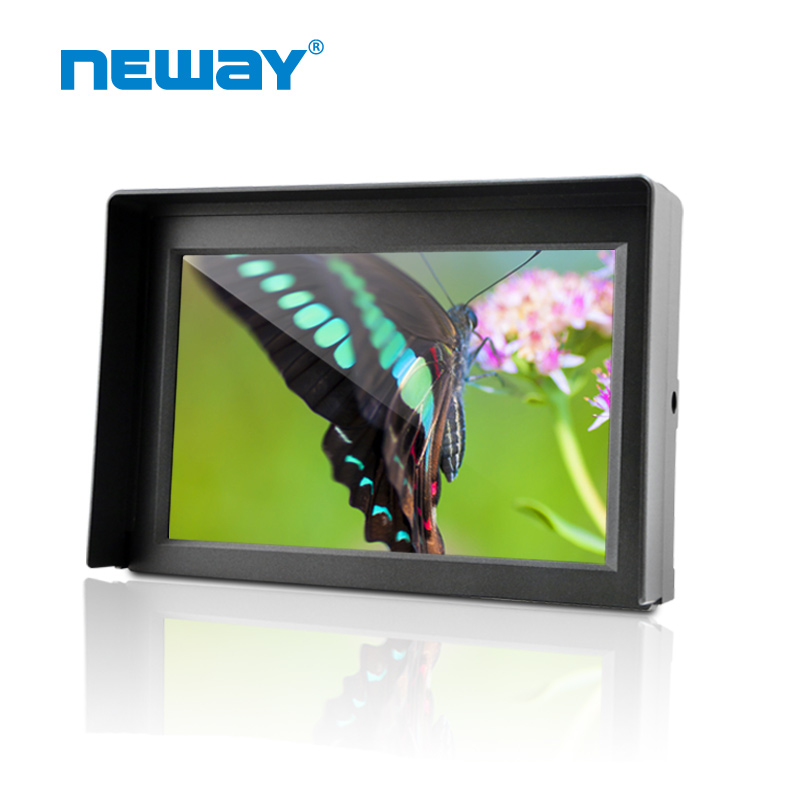 7-inch LCD HD SDI Portable Camera-Top Field <strong>Monitor</strong> 1080P with Embedded Audio,Peaking Focus Assist