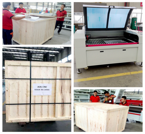 Aol China co2 laser engraving mesin acrylicwood mesin laser cutting acrylic laser cutting untuk Italia agen