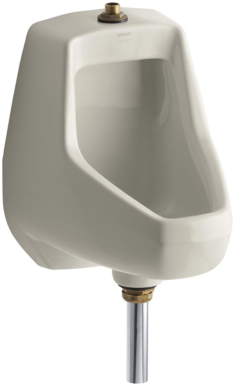 Kohler K-5024-T-G9 Darfield Urinal with Top Spud, Sandbar