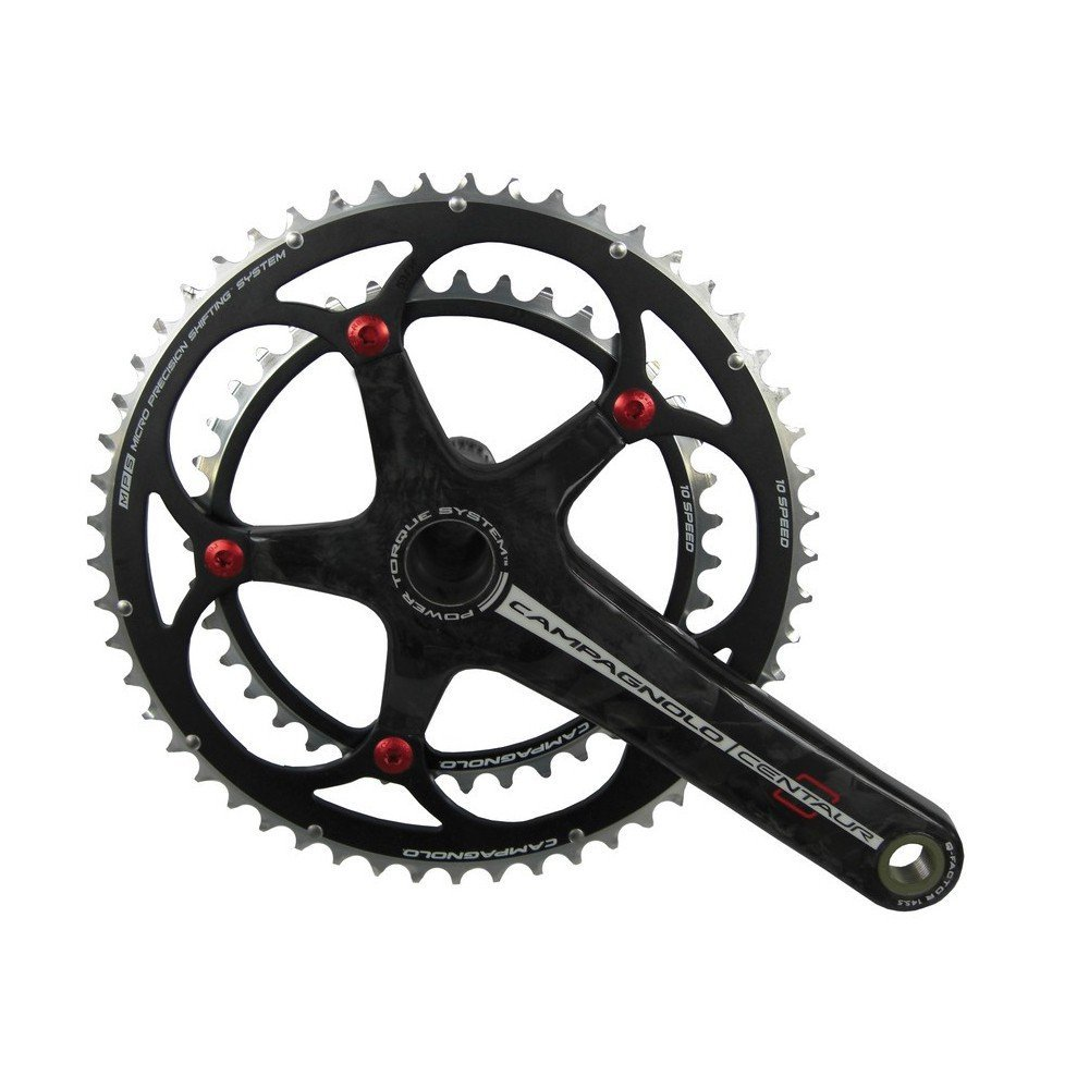 Campagnolo Centaur Black//Red Power-Torque 10Speed Double Compact 34//50-172.5mm