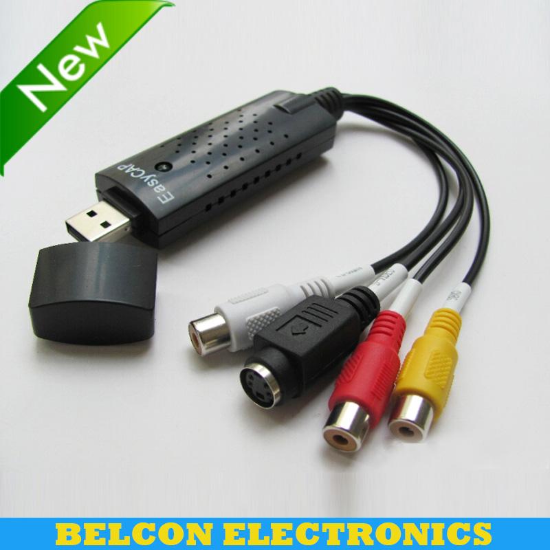 Hot sell USB 2 0 Video Easycap TV DVD VHS Capture Card Audio AV Easiercap Adapter