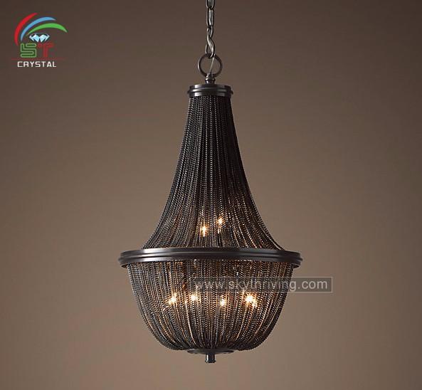 decorative black chain chandelier buy decorative black chain