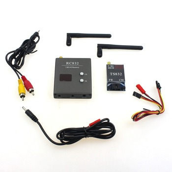 F07270 FPV 600mw Aerial Photography RC832+TS832 5.8G 40CH AV Transmitter & Receiver System