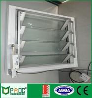 Australian Window And Door Design Aluminum Wood Clad Jalousie Glass Louvers Window
