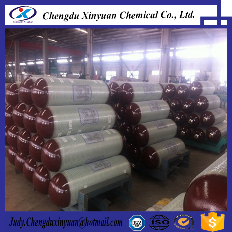 Type 2 CNG tank steamless steel cylinder tank manufacture