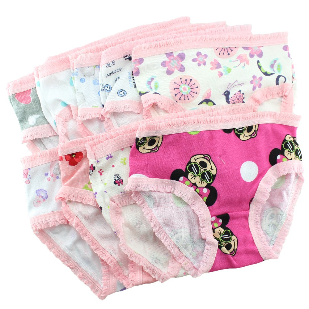 princess girls underwear briefs kids panties cotton calcinha infantil children boxer short baby clothing accessory
