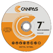 CANPAS 7 inch 180X1.6X22mm cutting disc china cutting disc <span class=keywords><strong>연마</strong></span> disc