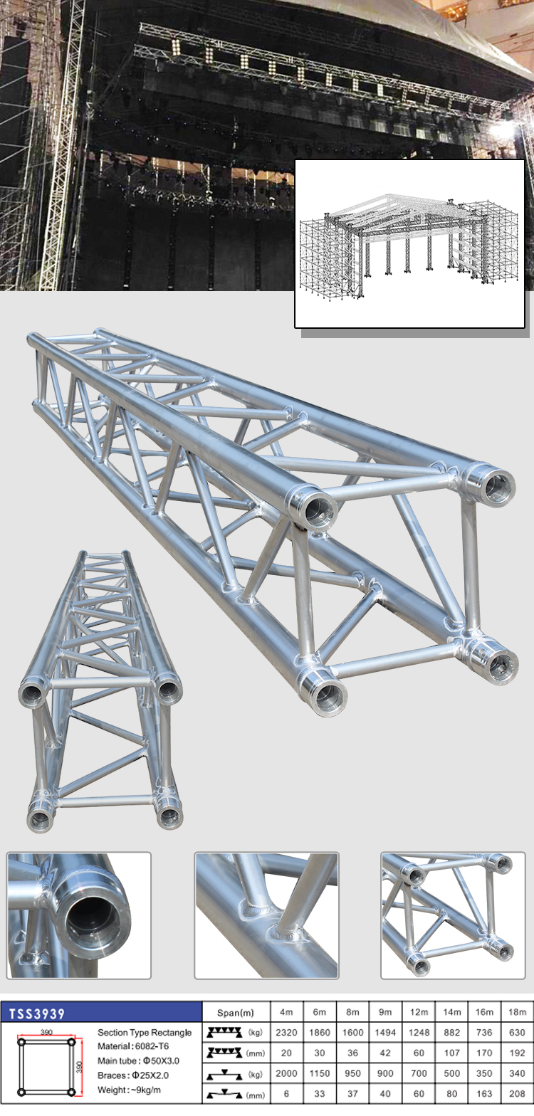 Top Qualität Aluminium Bühne Rahmen Truss Struktur/event Beleuchtung ...