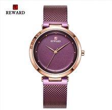 Женские кварцевые часы с браслетом из Синей Стали, брендовые Роскошные женские наручные часы с кристаллами, часы для девушек, Reloj Mujer(Китай)