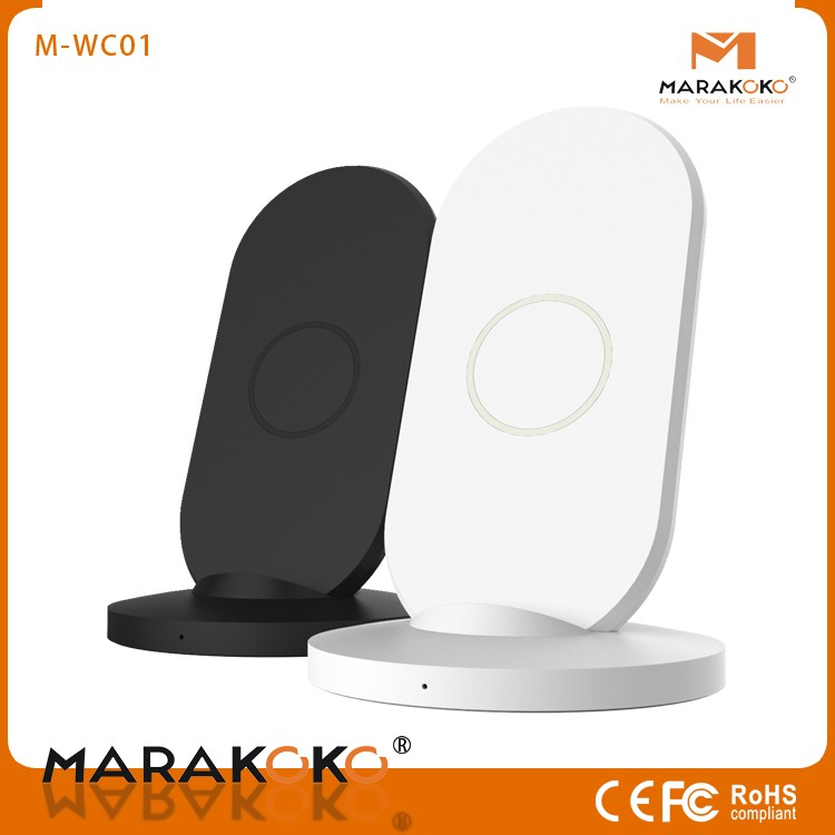 Marakoko New Fast Qi Wireless Charger Stand for Most Mobile Phone