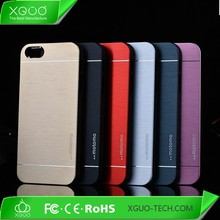 metal back cover motomo case for iphone 5